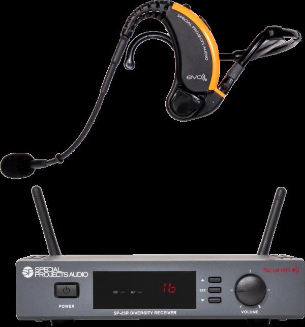 Evo Wireless Headset & Scan16 Receiver